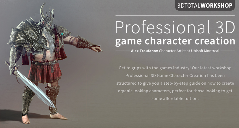 CGTalk | Available now! Professional 3D game character creation