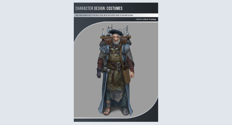 Character Design Ebook : Character design costumes download only